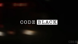 Code Black Title Screen