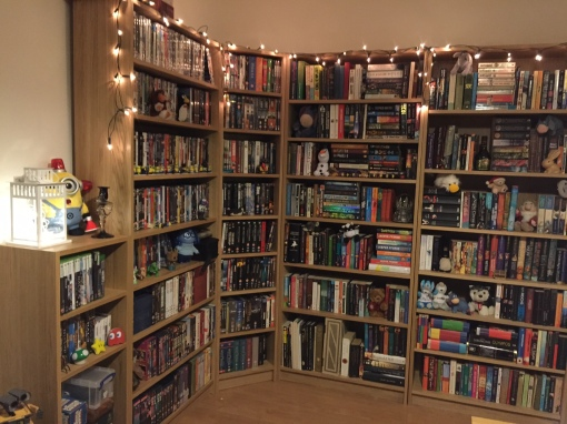 See - I love books, and television and film. (And also minions and fairy lights and cluttered shelves.)